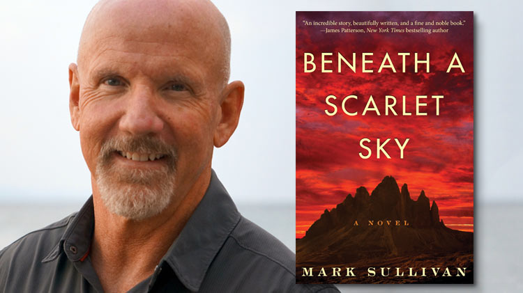 Beneath a Scarlet Sky by Mark T. Sullivan – better fiction than true story